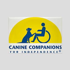 Color Canine Companions Logo Rectangle Magnet
