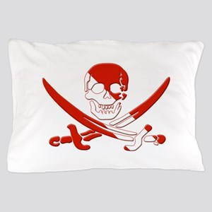 Pirate Skull Pillow Case
