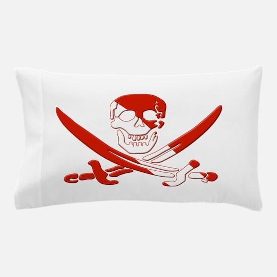 Pirate Skull Pillow Case