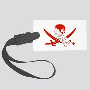 Pirate Skull Large Luggage Tag