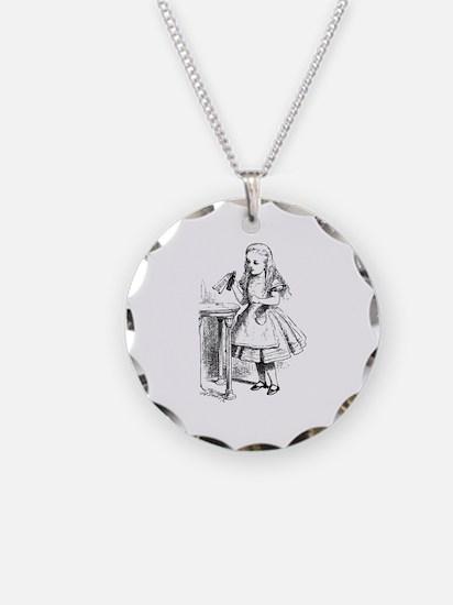 Alice & Drink Me Bottle Necklace