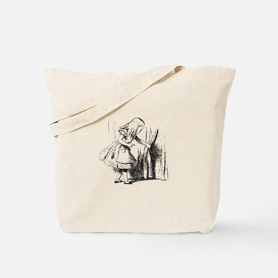 Alice & The Tiny Door Tote Bag