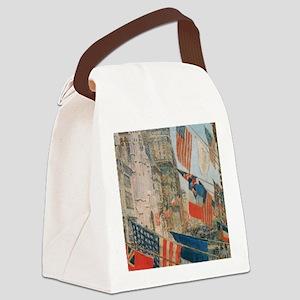 Vintage Poster 6 Cafe Press Canvas Lunch Bag