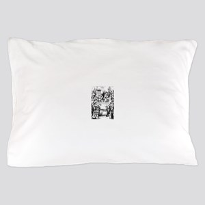 The King & Queen of Hearts Pillow Case