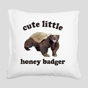 Cute HB Square Canvas Pillow