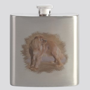 Cavalier King Charles Spaniel Ruby Flask