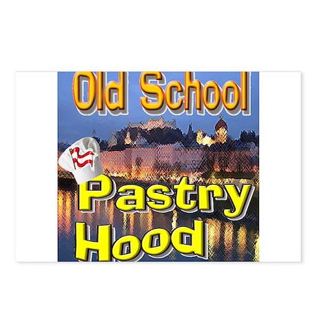 Old School Pastry Hood Postcards (Package of 8)