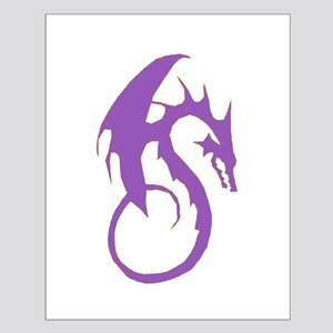 Purple Dragon Small Poster