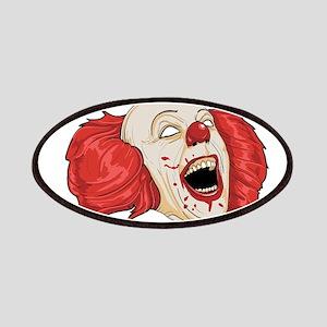 halloween evil clown Patch
