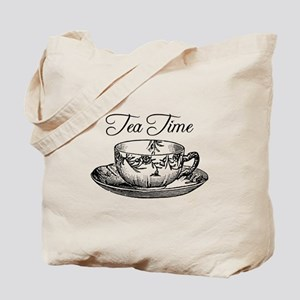 Tea Time Tea Cup Tote Bag