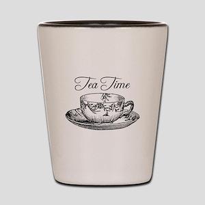Tea Time Tea Cup Shot Glass
