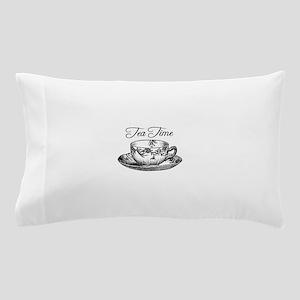 Tea Time Tea Cup Pillow Case