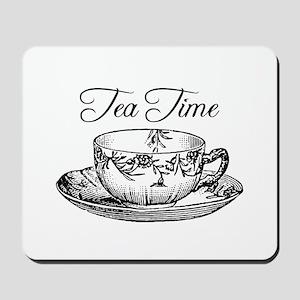 Tea Time Tea Cup Mousepad