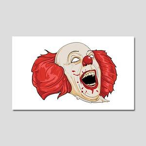 halloween evil clown Car Magnet 20 x 12