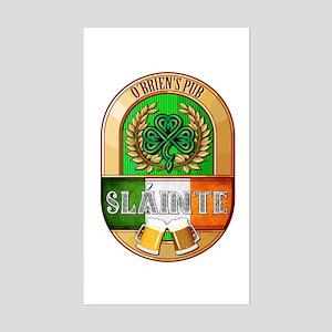 O'Brien's Irish Pub Sticker (Rectangle)