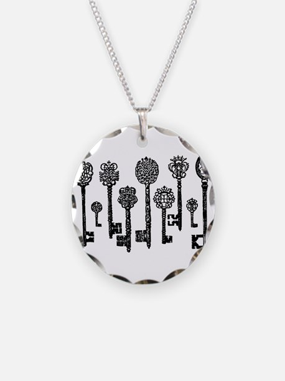 Vintage Keys Necklace