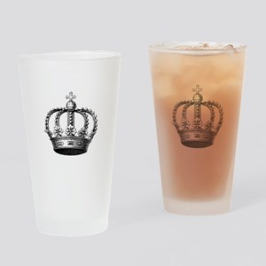 King's Crown Drinking Glass