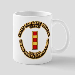 USMC - CW2 - Retired Mug