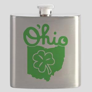 O'Hio Irish Ohio Flask