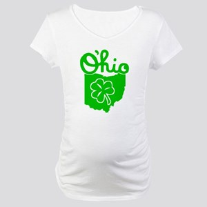 O'Hio Irish Ohio Maternity T-Shirt