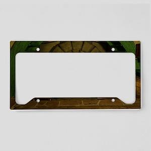 SteamPunk Elves 1 (cp) License Plate Holder