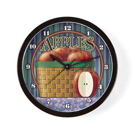 Apple Wall Clock