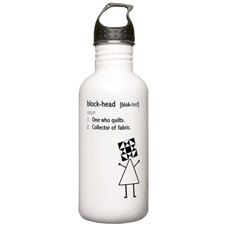 blockhead Stainless Water Bottle 1.0L