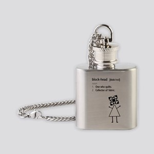 blockhead Flask Necklace