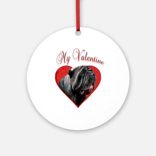 Neo Valentine Ornament (Round)