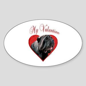 Neo Valentine Oval Sticker