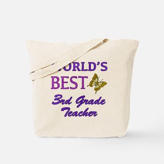World's Best 3rd Grade Teacher Tote Bag