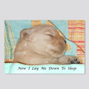 Precious Puppy Sleeping S Postcards (Package of 8)