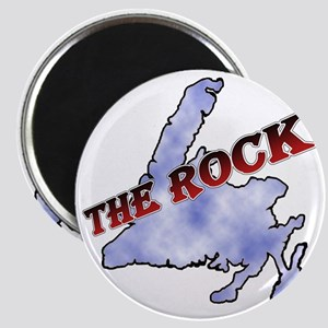 The Rock with sky texture Island and red le Magnet