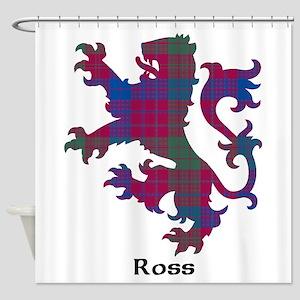 Lion - Ross Shower Curtain