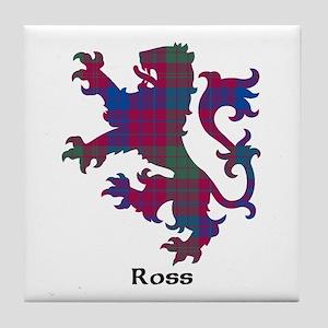 Lion - Ross Tile Coaster