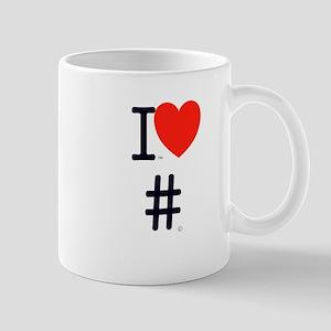 I Love Hashtag NY Chicago LA Twitter Google Beijin