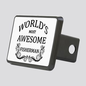 World's Most Awesome Fisherman Rectangular Hitch C