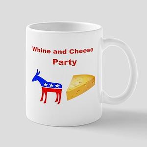 WHINE AND CHEESE PARTY mug Mugs
