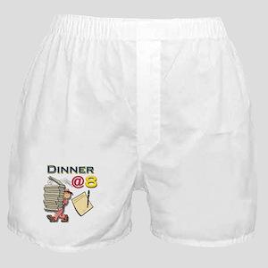 Dinner@8 Boxer Shorts