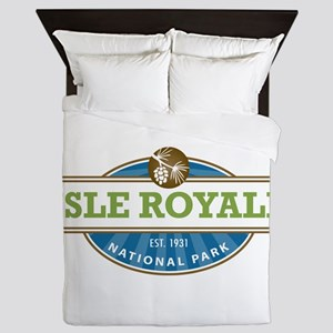 Isle Royale National Park Queen Duvet