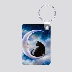 Cat 580 Aluminum Photo Keychain