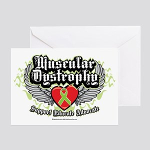 Muscular-Dystrophy-Wings Greeting Card
