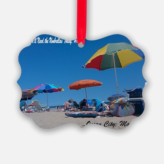 Ocean City, MD Post Card Ornament