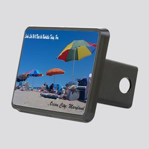 Ocean City, MD Post Card Rectangular Hitch Cover