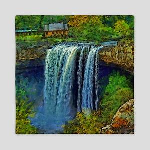 Noccalula Falls Queen Duvet