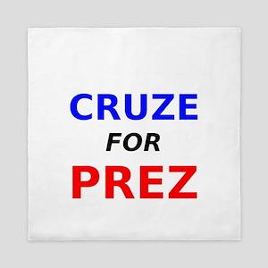 Cruze for Prez Queen Duvet