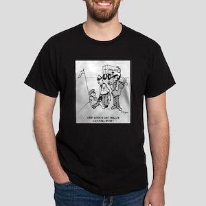 Kid Swallows a Golf Ball Dark T-Shirt