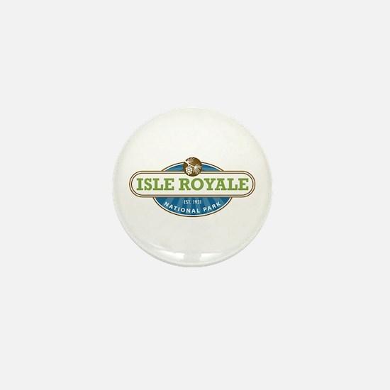 Isle Royale National Park Mini Button