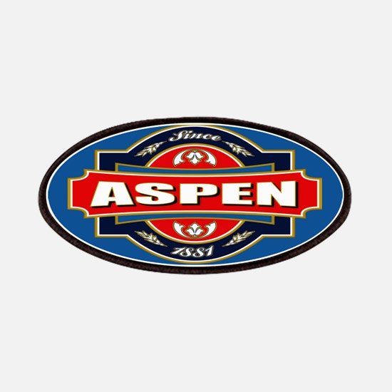 Aspen Old Label Patches