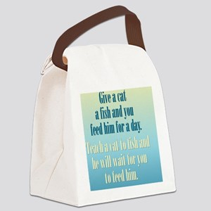 catM_rnd2 Canvas Lunch Bag